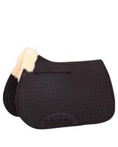 BR Saddle Pad Cutout Versatility Sheepskin Withers