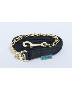 Bucas  Stallion Chain Lead Black