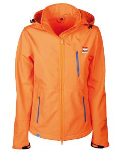 Harry's Horse Softshell jacket Dutch Orange