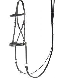 Harry's Horse Bitless bridle, black
