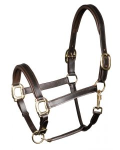 Harry's Horse Halter leather, padded