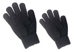 Hofman Riding Glove Magic Grippy Black Kids