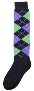 Hofman Knee Socks RE 35/38 Black/Purple