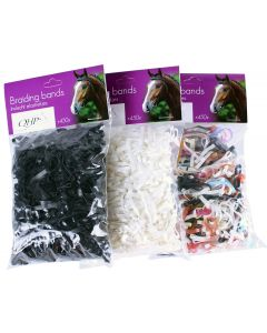 QHP Braiding rubber bands wide 50 gm