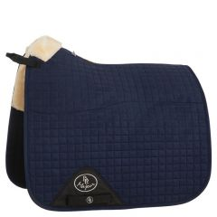 BR Saddle Pad Major Dressage Luxury Sheepskin