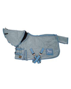 BR 4-EH Fly Rug Ashley Blue