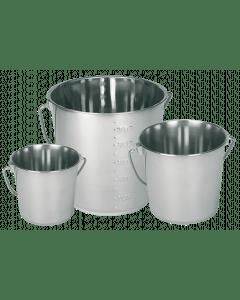 Kerbl Bucket stainless steel 5.7 l