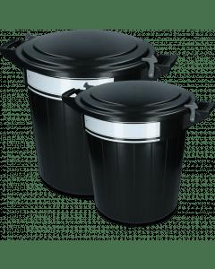 Vplast Feeding barrel with lid, lock and writing label