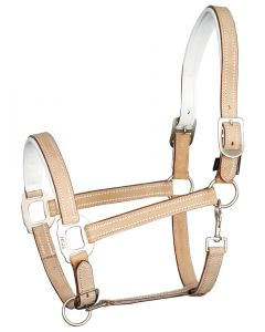 Harry's Horse Halter leather Cremello