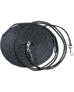 Harry's Horse Double lunge line black