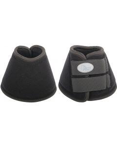 Harry's Horse Bell riding boot straps neoprene brush black