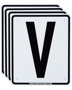 Harry's Horse Baking plates, V, S, R, P