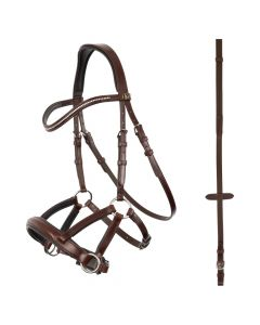 """BR bridle Lewes """"side & pull"""""""