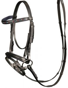 Harrys Horse Bridle Stout Navy