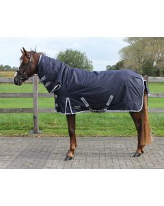 QHP Turnout rug 600D with neck 300gr