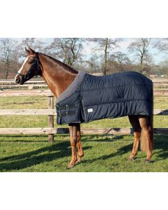 QHP Underrug with fleece collar 300gr Black 215
