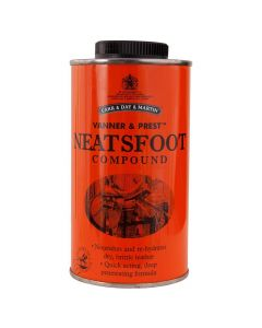 BR Leather oil C&P Neatsfood compound 500 ml