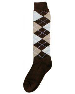 Hofman Knee Socks RE 35/38 Dark Brown