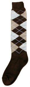 Hofman Knee Socks RE 39/42 Dark Brown