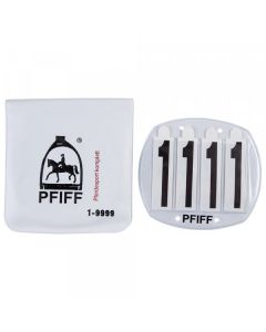 PFIFF Bridle numbers 4 digits