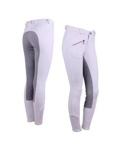 QHP Breeches Junior leather seat