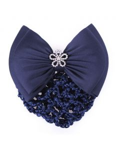 QHP Hair bow Classy Navy