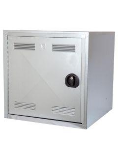 Folding stable Peetz galvanized 60x60x60cm.v / sheepskin saddle pad cabinet