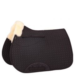 BR Saddle Pad Cutout Versatility Sheepskin Withers