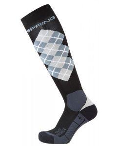 PFIFF FUNCTIONAL TARTAN Pro winter riding socks
