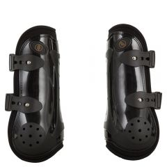 BR Tendon Boots Air Pro Black Full