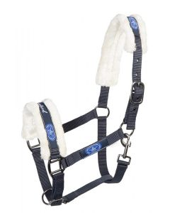 PFIFF Halter with faux fur