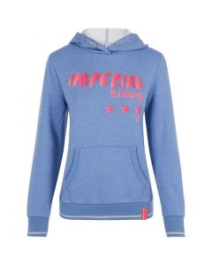 Imperial Riding Sweater with hood Royal