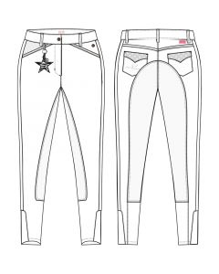 Imperial Riding Breeches Star Edition Standard Full seat