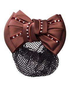Imperial Riding Hair bow luxury with hair / bun net