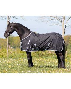 QHP Turnout rug Big neck 300gr Black 185