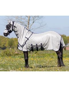 QHP Fly rug with neck and hat Big neck