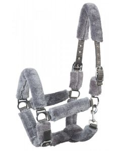 PFIFF Halter 'COSY', with faux fur