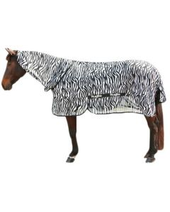 Hofman Fly blanket Zebra including neck piece