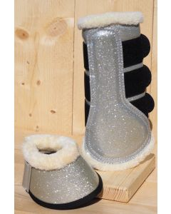 HB Bell boots sparkle