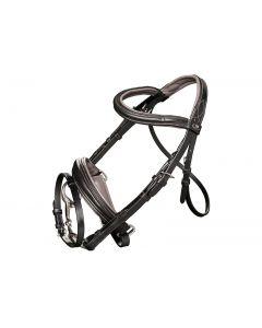 Harrys Horse Bridle Soft Black Shetland Pony
