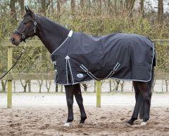 Harry's Horse Thor rug black, fleece lining