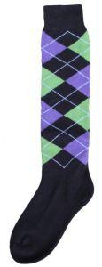 Hofman Knee Socks RE 39/42 Black/Purple