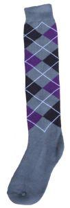 Hofman Knee Socks RE 35/38 Purple/Silver