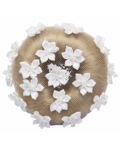 Imperial Riding Bun net Flower