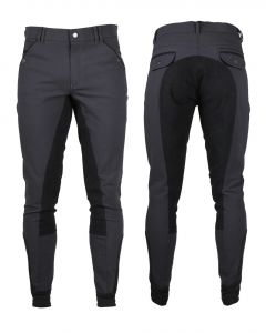 QHP Riding breeches Jack synthetic leather seat zit