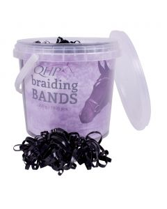 QHP Plaiting elastic bands wide