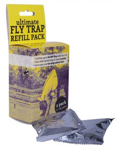 QHP Fly trap refill 2-pack Yellow