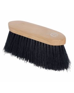 Imperial Riding Dandy brush with long nylon hair and wooden back
