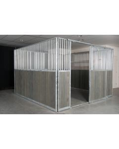 Galvanised Horse Stable
