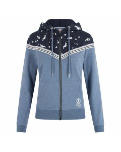 Imperial Riding Cardigan with hood Let's Go